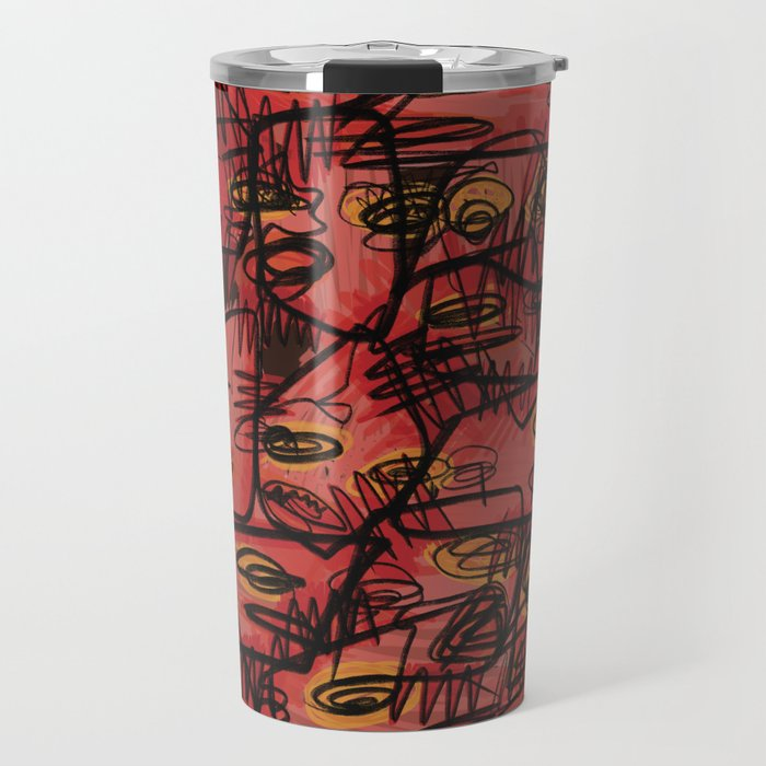 *ABSTRACT_A Travel Mug