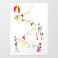 baloon Art Print