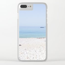 Hver, Croatia II Clear iPhone Case
