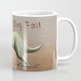 Downward Dog Fail Coffee Mug