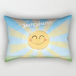 Hello Sunshine Rectangular Pillow