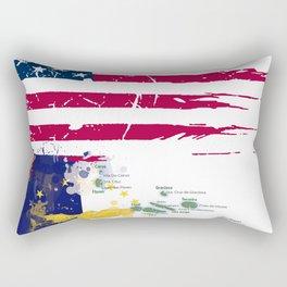 Azorean American Rectangular Pillow