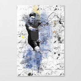 Game, Set, Match Canvas Print