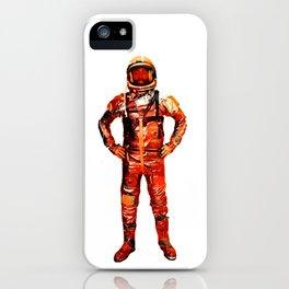 Astronaut James iPhone Case