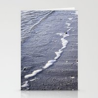 salt water Stationery Cards featuring Salt water by Emelie Johansson