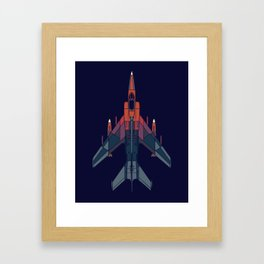 Dusk hawk down Framed Art Print