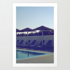 In love with summer... Art Print