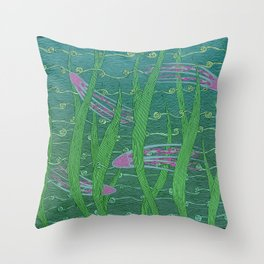 String Theory Incident Throw Pillow