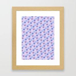 Sailor moon cat wallpaper Framed Art Print