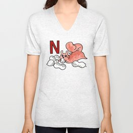 N is for Nuts Unisex V-Neck