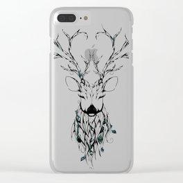 Poetic Deer Clear iPhone Case