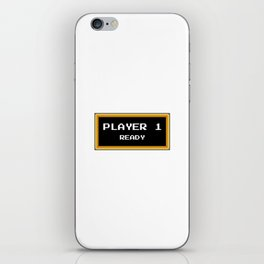 Player 1 ready iPhone Skin