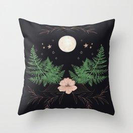 Night Bloomer Throw Pillow