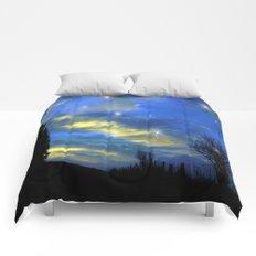 Starry sky Comforters