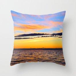 Serenity at Sea Throw Pillow