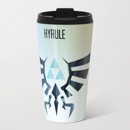 The Legend of Zelda - Hyrule Rising Poster Travel Mug