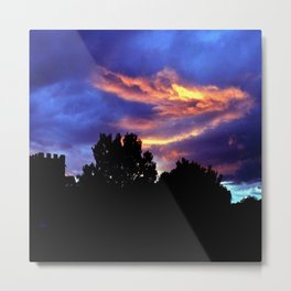 Under A Blood Red Sky Metal Print