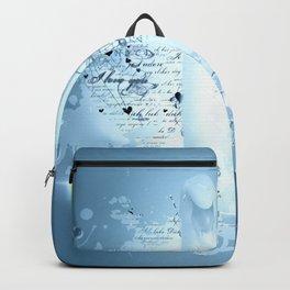 Schwanenpaar Backpack