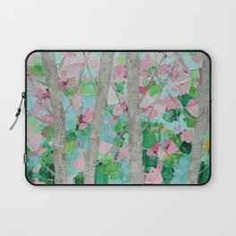 Dancing Cherry Blossom Trees Laptop Sleeve