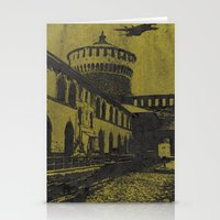 milan Stationery Cards featuring Milan 5 by Anand Brai