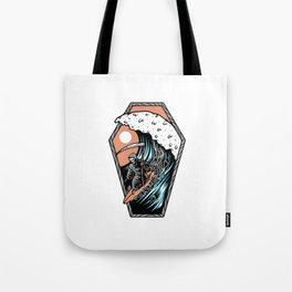 Surf Till Die Tote Bag