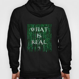 What is real? Hoody