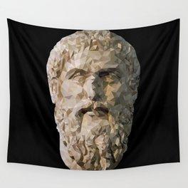 Historical Figures - Plato, Greek Philosopher Wall Tapestry