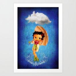Betty Boop Art Print