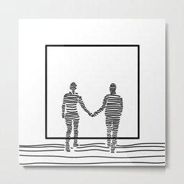 In The Dream | Us Metal Print