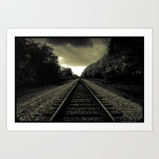 Out of Darkness Art Print