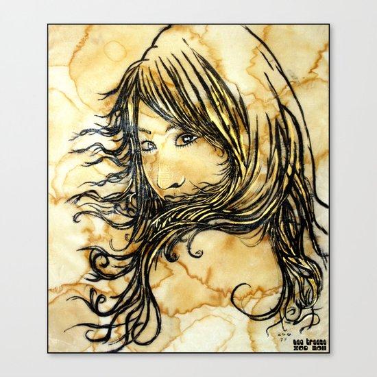 Tea Breeze Canvas Print