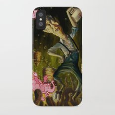 The Demon of Round Cypress Slim Case iPhone X