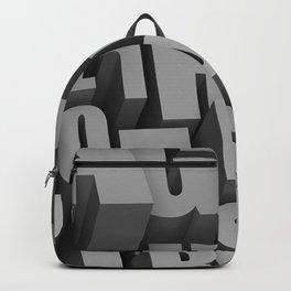3D Letters Backpack