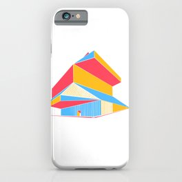 Rem Koolhaas - Seattle Central Library iPhone Case