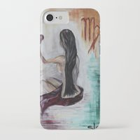 virgo iPhone & iPod Cases featuring Virgo by sladja