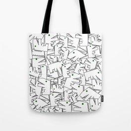 Line art - Crocodile Tote Bag