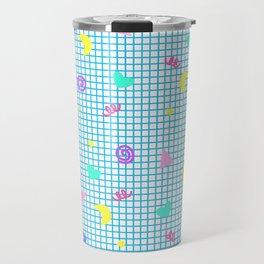 Confetti Grid Travel Mug