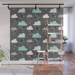 Rainy day Wall Mural