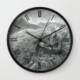 Kate and Catstye Cam Wall Clock