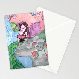 Hybrid Mermaid Stationery Cards