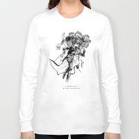 jojo Long Sleeve T-shirts featuring Jojo's Bizarre Adventure - Stardust Crusaders - Jotaro Kujo (Jojo) by AmaSan