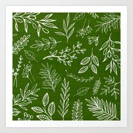Emerald Forest Art Print