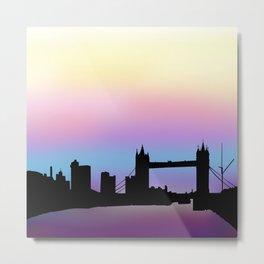 London Sky Metal Print