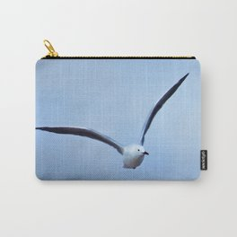 Seagull in flight Carry-All Pouch