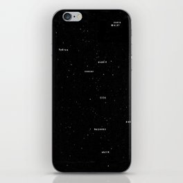 The Night Sky  iPhone Skin