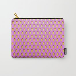 Elongated Holes3 Spanked Pink Carry-All Pouch