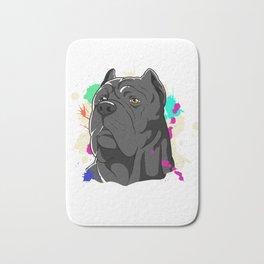 Awesome Mastiff Gift Cane Corso Italian Mastiff Design Bath Mat