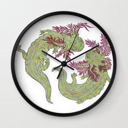 Ax dance Wall Clock