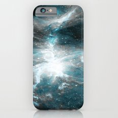Orion Nebula Teal Gray Galaxy Slim Case iPhone 6s