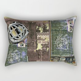 Astrolabe, 1 Rectangular Pillow